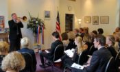 Embassy personnel came together to share their memories of the attacks on September 11, 2001.