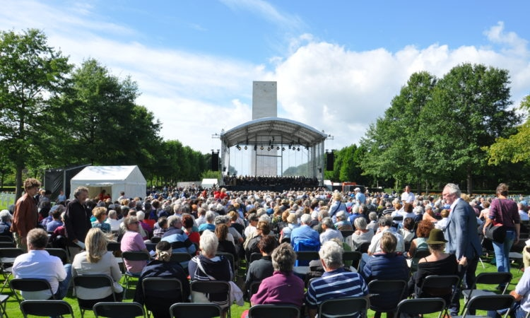 Liberation Concert at the Netherlands American Cemetery in Margraten, September 4, 2016