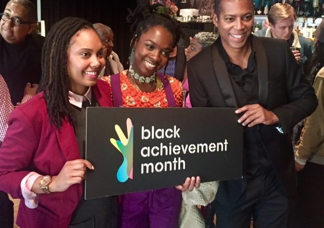 U.S. Vice Consul Kharmika Alston at closing of Black Achiement Month