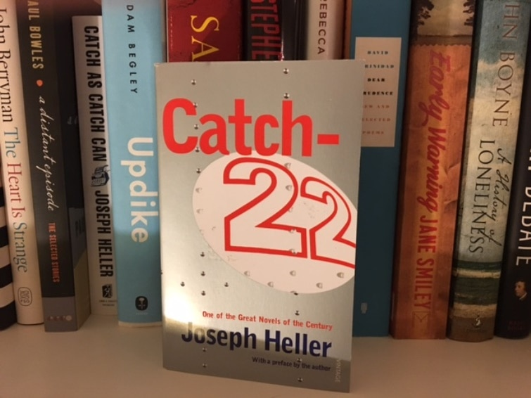 Whats On The CGs Bookshelf Catch 22 By Joseph Heller