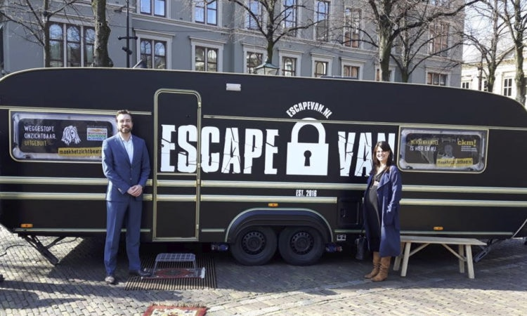 U.S. Embassy Human Rights team tries to escape from EscapeVan
