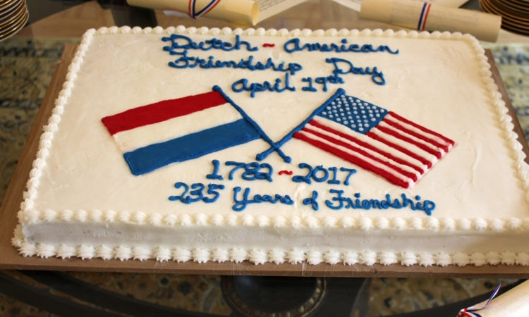Dutch-American Friendship Day 2017
