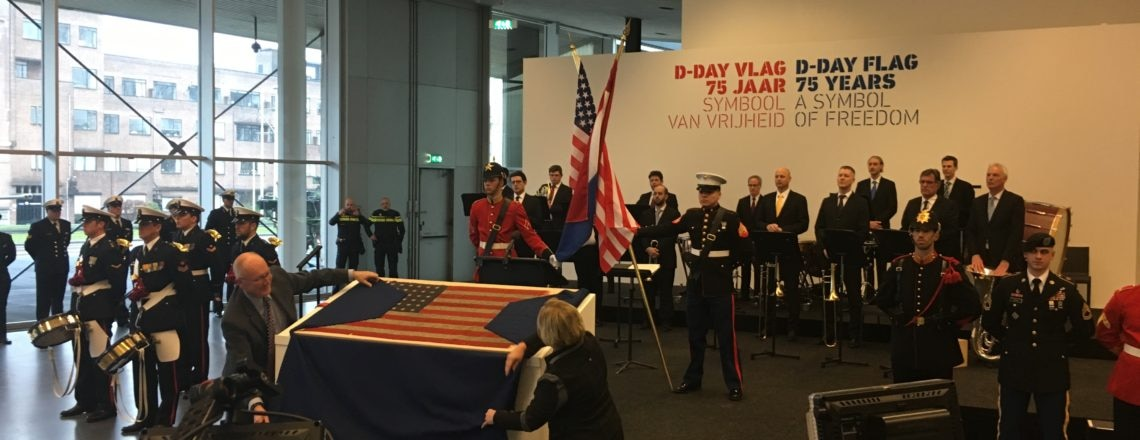D-day Flag Exhibit Celebrates 75 years of freedom