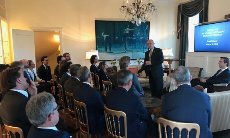 Ambassador Hoekstra addresses APEP group going on study tour to the U.S.