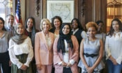 Secretary DeVos and IMC Weekendschool Ambassadors