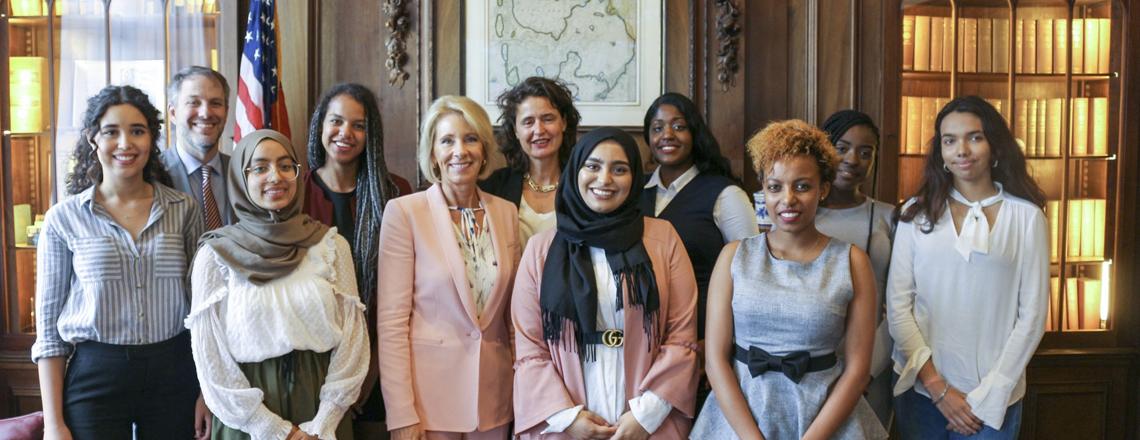 U.S. Secretary of Education, Betsy DeVos visits the Netherlands