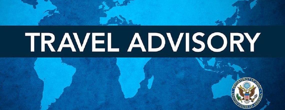 Travel Advisory Update